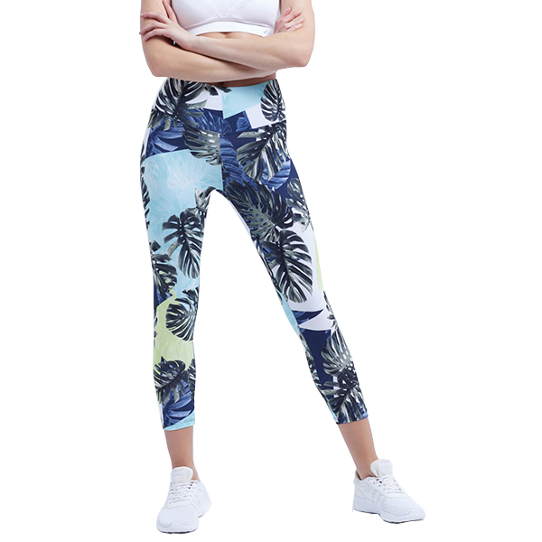 sublimation printing floral leggings - 副本 - 副本 - 副本